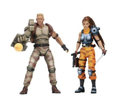NECA Alien vs Predator Arcade Appearance Dutch & Linn 2 Pack